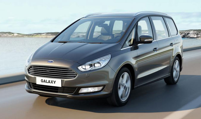 Новый Ford Galaxy