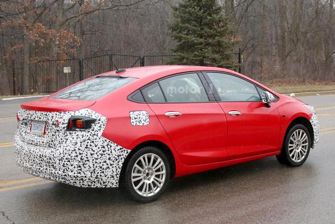 Новый Chevrolet Cruze