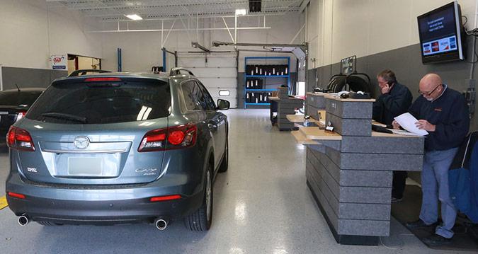 Официальное обслуживание Mazda