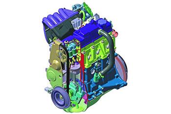 Российский двигатель Lada Largus