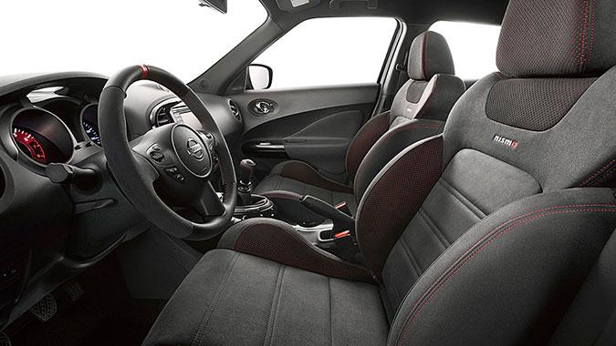 Салон Nissan Juke