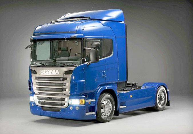 Тягач Scania