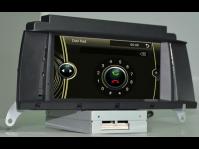 BMW X3 car radio touchscreen