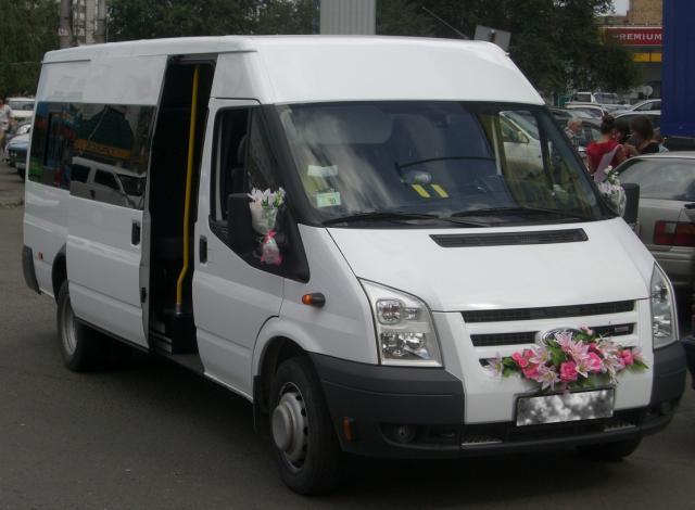 Свадебный микроавтобус