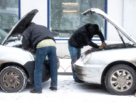 Завести авто в мороз