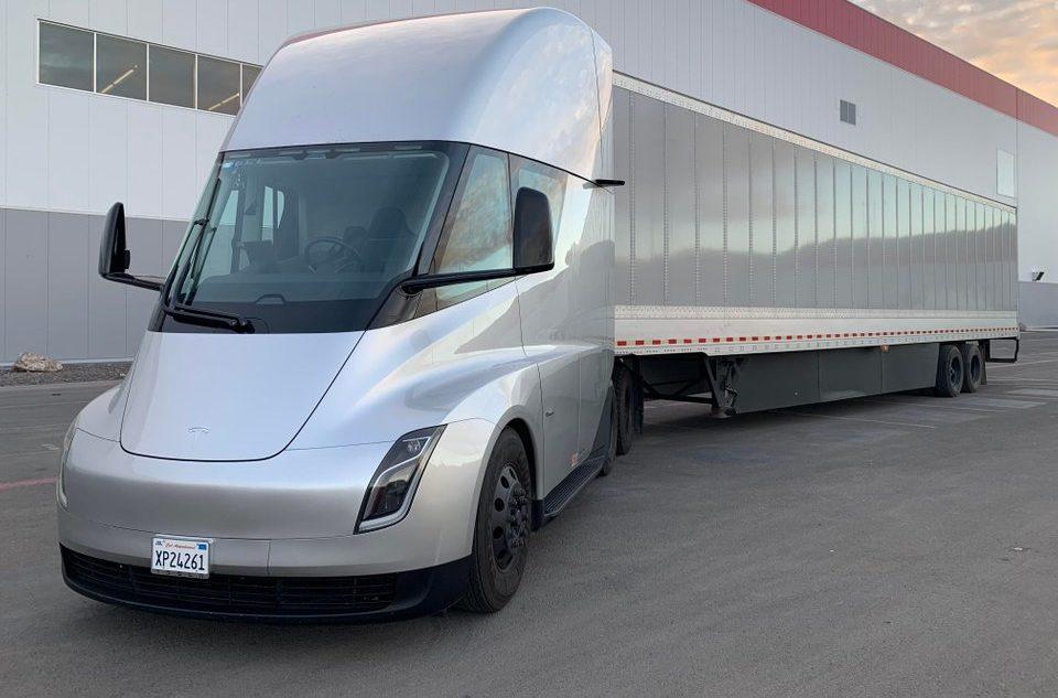 Tesla Semi 2018