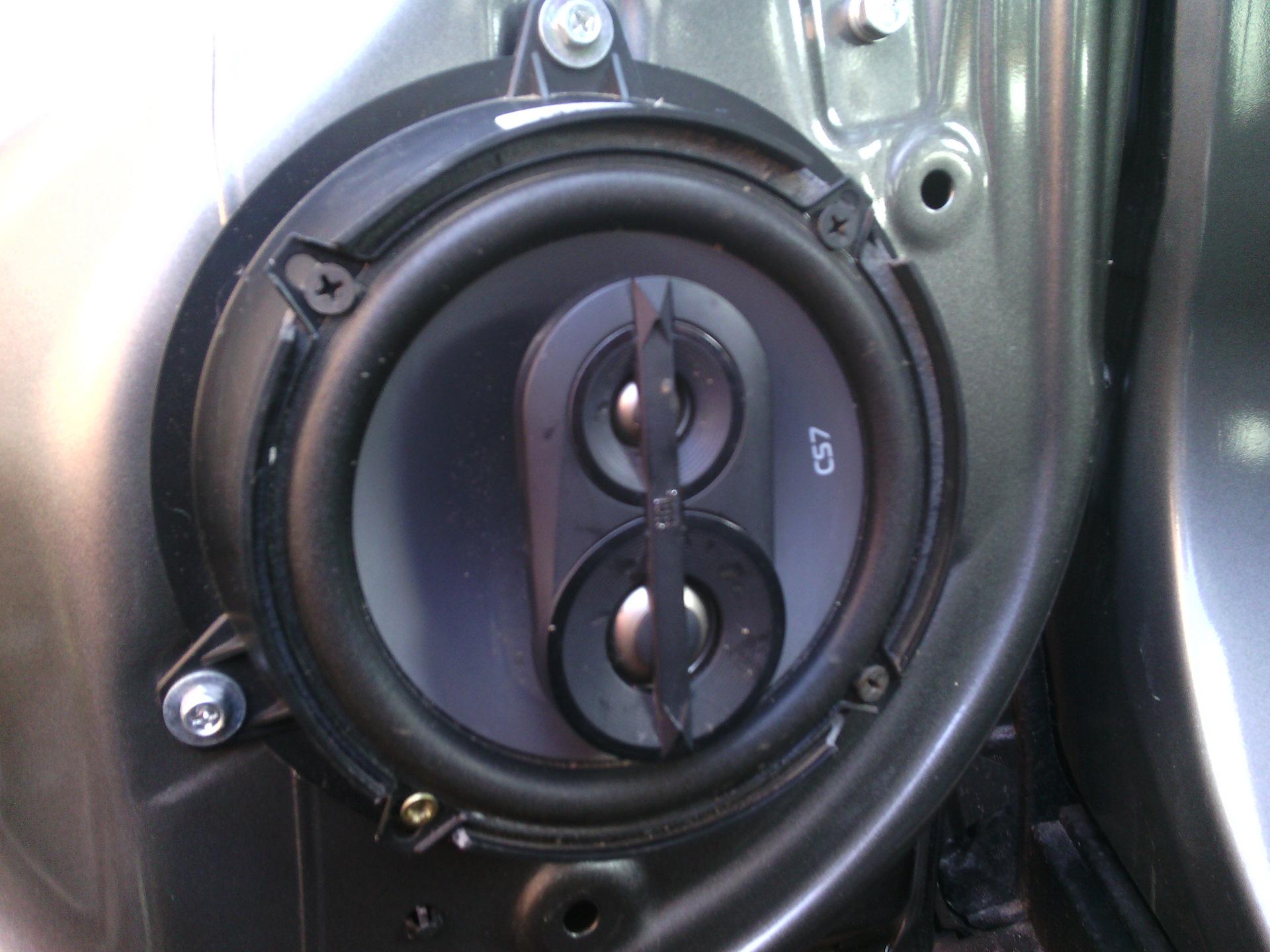 Haval H6 передние динамики